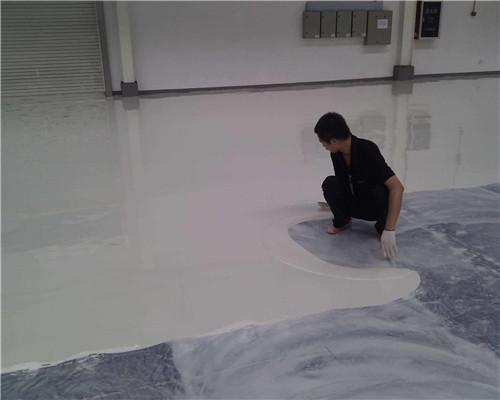 环氧防静电地面漆施工