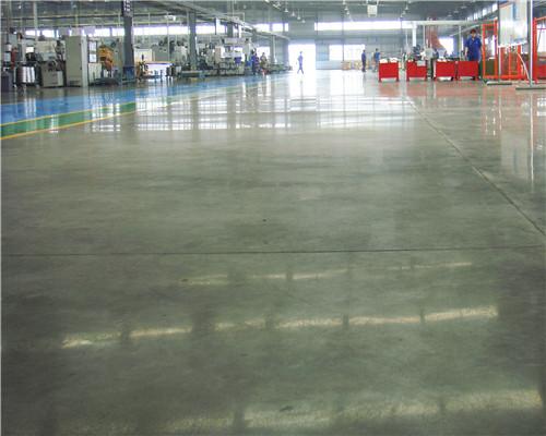 固化地坪施工