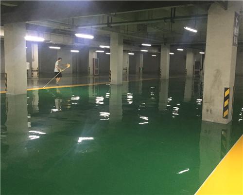 苏州地下车库地面